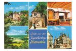 Postkarte der Jugendherberge aus den 70igern