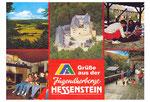 Postkarte der Jugendherberge nach 1987