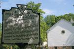 Ein Schild erinnert an den Bürgerkrieg in Waterford.