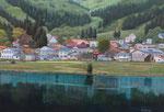 神戸 美栄子 「湖畔の春」