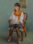 大島 信子 「オレンジ色のショール」