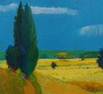 山内 大介 「大きな樹と麦畑」