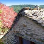 Gite de liou - Cévennes - Le pignon Nord du gîte