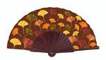 Artikel Nr. 8674 Ginkgo braun (Mahagoni/Holz)