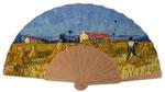 Artikel Nr. 8626 Ernte in der Provence (Mahagoni/Holz)
