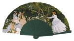Artikel Nr. 8651 Damen im Garten (Mahagoni/Holz)