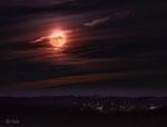 Mond über Birkach