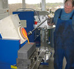 Fundição indução para metais reciclados
