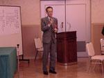 理事OBの橋田恭司氏による乾杯の音頭