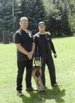 Die beiden Helfer Ivan und Martin, die für unsere verletzten Hans-Jürgen Brunner und Manuel Schaumberger eingesprungen sind.