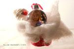 pallina albero Natale con   due foto