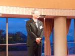 香川県は、武山会長が欠席であったので副会長の久保士郎氏によるスピーチ。