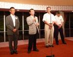 来年度は高知県で開催されることが決まったので、参加していた4名が挨拶。