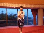 三浦智美さんのスピーチ。