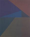 Antje Blumenstein, five lines 14, 2014, Öl auf Leinwand, 100 x 81 cm