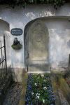 Drostes Grab auf dem Meersburger Friedhof