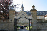Portal zu Schloss Tambach, dem ehemaligen Sommersitz der Langheimer Äbte