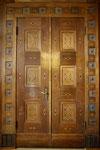 Regierung von Oberfranken, Türe mit Intarsien