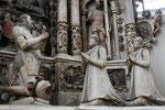 Coburg, Morizkirche, Altar mit Herzog Johann Friedrich II. und seiner Familie