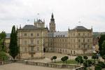 Coburg, Schloss Ehrenburg vom Hofgarten aus