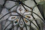 Sterngewölbe im spätgotischen Chor