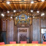 Überlingen, spätgotisches Rathaussaal, Türe