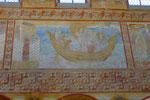 St. Georg, Stillung des Sturmes, eines der großen Wandbilder, 10. Jh.