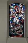 Laurentiuskirche, Fenster mit Erzengel Michael
