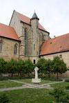 Sonnefeld, ehemals Zisterzienserkloster, Kirche und Klosterhof