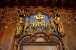 Rathaussaal, Türe, Detailansicht