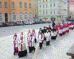 Auszug der Geistlichkeit