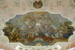 Kaisersaal, Deckengemälde mit Kaiserkrönung