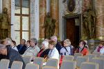 Unsere Gruppe im Kaisersaal