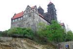 Schloss und Dom St. Servatius und Vitus,auf hohem Fels erbaut
