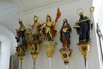 Ottobeuren, Prozessionsstangen im Klostergebäude
