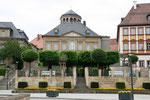 Ankunft in Bayreuth auf dem Luitpoldplatz
