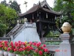Einsäulen-Pagode in Hanoi
