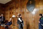 Regierung von Oberfranken, Besprechungszimmer mit Intarsien
