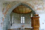 St. Johann auf Burg, Chor mit Fresken