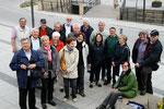 Unsere Reisegruppe auf dem Luitpoldplatz
