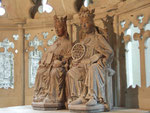 Otto der Große und Edith, bzw. Christus und Ecclesia