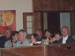 Vor dem Konzert in der ehemaligen Blasii-Kirche