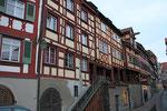 Meersburg, Steigstraße mit Fachwerkhäusern