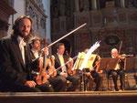 I Musici die Roma mit Konzertmeister Anselmi