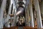 Überlingen, spätgotisches Münster St. Nikolaus, Langhaus