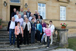 Auf der Treppe des Klostergebäudes ein letztes Gruppenfoto zum Andenken an die schöne Reise