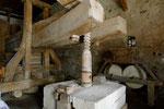 Alte Weinpresse im Kloster St. Georgen
