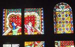 Glasfenster im Museum