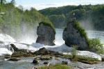 Rheinfall von der Aussichtsterrasse aus