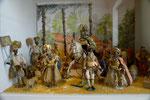 Krippe im Museum, Hl. Drei Könige